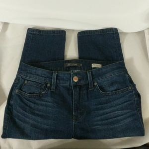 Level 99 Mid Rise Lily Skinny Straight - size 27